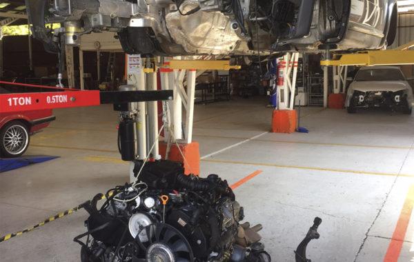 Motor  y  caja  Audi  2.7 T [Terminado]