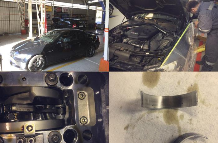 BMW M3 Cambio preventivo metales biela